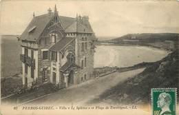"""PERROS GUIREC - Villa """"le Sphinx"""" Et Plage De Trestrignel. - Perros-Guirec"""