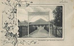 Ambon Kweekschool Voor Inlandsche Onderwijzers . P. Used 2 Stamps - Indonésie
