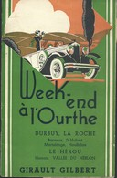 """Livret 20 Pages """" Week-end à L'Ourthe """" Durbuy Laroche Barvaux ... Guide Girault Gilbert - Culture"""
