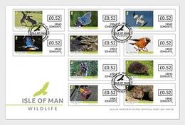 Man / Isle Of Man - Postfris / MNH - FDC Wildlife 2019 - Man (Eiland)