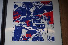 CART1/Jacques Villeglé 50 X 65 Cm Signature Au Crayon Dans La Marge Numéroté 27/80 Nouveau Réalisme - Prints & Engravings