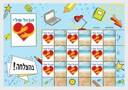 Israël - Postfris / MNH - Sheet Good Luck 2019 - Israël