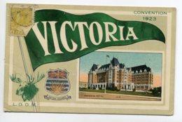 CANADA VICTORIA Convention 1923 Empress HOTEL écrite      D04 2019 - Canada