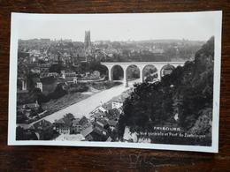 Suisse. Fribourg. Vue Générale Et Pont De Zaehringen - FR Fribourg
