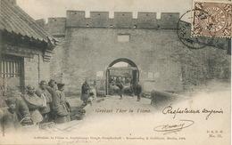 Grosses Thor In Tsimo  Max Wolff Breslau Shanghai . J. Goldiner Berlin. P. Used - Chine