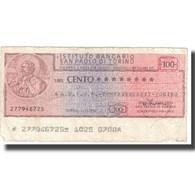 Billet, Italie, TORINO, 100 Lire, Personnage, 1976, 1976, TB - Autres