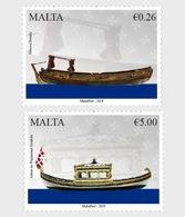 Malta / Malte - Postfris / MNH - Complete Set Schepen 2019 - Malta
