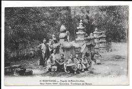 CHINA CHINE GUIZHOU /KOUY-TCHEOU 15 GUIYANG KIEN-LIN-CHAN PAGODA BRONZE TOMBS 中国贵州 - Chine