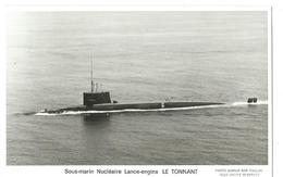 67 CP - MARIUS BAR - SNLE LE TONNANT - Submarines
