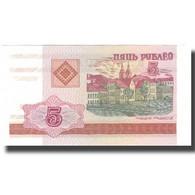 Billet, Bélarus, 5 Rublei, 2000, 2000, KM:22, NEUF - Russie