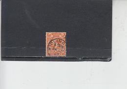 GRAN BRETAGNA  1912-22 - Unificato  142° - Giorgio V - Usati