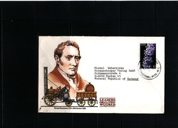 Nevis 1989 Interesting Airmail Letter - St.Kitts Und Nevis ( 1983-...)