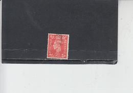 GRAN BRETAGNA  1937-47 - Unificato  212° - Giorgio VI - Usati