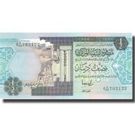 Billet, Libya, 1/2 Dinar, KM:63, NEUF - Libye