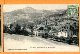 MOL378, Saint-Gervais Et Le Mont-Joli, 1971, édit. Jullien Frères, Circulée - Saint-Gervais-les-Bains