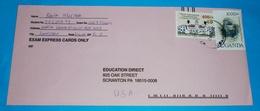 UGANDA - Brief Lettre Cover Envelope - 2111 Gorilla Tiere + 400 Sh Frauenkongreß (2 Foto)(134372) - Uganda (1962-...)