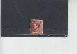 GRAN BRETAGNA  1936 - Unificato  207° - Edoardo - Usati