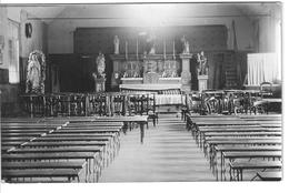 Capelle Au Bois 1914-1915 église Provisoire Dans Une Salle De Danse - Guerre 1914-18
