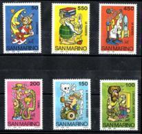 San Marino Nº 1098/103 En Nuevo - San Marino