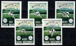 San Marino Nº 1110/14 En Nuevo - San Marino