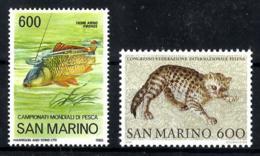 San Marino Nº 1122/23 En Nuevo - San Marino