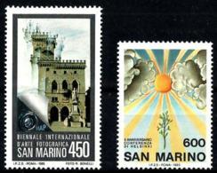 San Marino Nº 1117/18 En Nuevo - San Marino