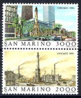 San Marino Nº 1136/37 En Nuevo - San Marino