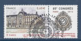 France - YT N° 4678 - Oblitéré, Dos Neuf Sans Charnière - 2012 - France