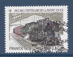 France - YT N° 4655 - Oblitéré, Dos Neuf Sans Charnière - 2012 - France