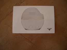 Carte Avon Josie* - Perfume Cards