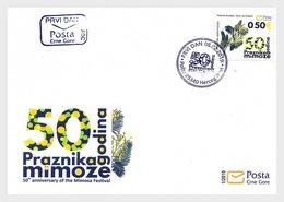 Montenegro - Postfris / MNH - FDC 50 Jaar Mimosa Festival 2019 - Montenegro