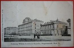 AUSTRIA - WIEN II.  K.u.K. ERZHERZOG WILHELM ARTILLERIE KASERNE - Vienna Center