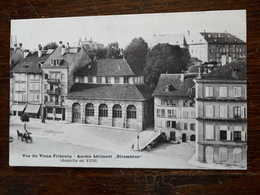 Suisse. Fribourg. Ancien Batiment Strambino ( Démoli En 1906 ) - FR Fribourg