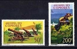 !!! COMORES POSTES AERIENNES N°18/19 NEUVES ** - Posta Aerea