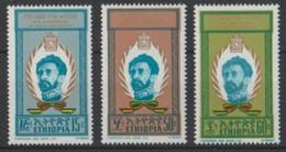 1970 Etiopia Hailé Sélassié 40°Incoronazione Set MNH** Tem376 - Etiopia