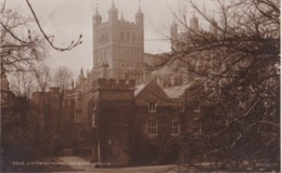 AS25 Exeter Cathedral The Bishop's Palace - Thimble Postmark - Exeter