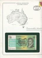 Billet 2 Dollars Australien Dans Son Enveloppe De Presentation - Other - Oceania
