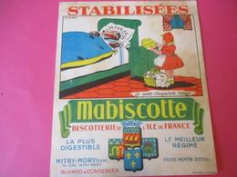 Buvard//Stabilisées/MABISCOTTE/Petit Chaperon Rouge/Biscotterie Ile De France/MITRY-MORY(S&M)/Nuez/Vers1940-60  BUV442 - Zwieback