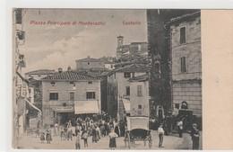 Cartolina - Piazza Principale Di Montecatini - Castello - Pistoia