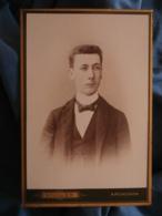 Cabinet Photo Bouillier à Arcachon - Portrait Jeune Homme élégant Circa 1885-90 L421 - Photographs