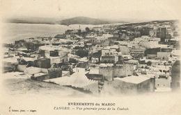 Evenements Du Maroc Tanger Vue Generale Edit Geiser Alger No 4 - Tanger