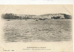 Evenements Du Maroc Tanger Vue Generale Mer Edit Geiser Alger No 9 - Tanger