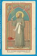 Holycard    St. Petrus  Damianus - Images Religieuses