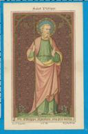 Holycard    St. Philippe Apostel - Images Religieuses