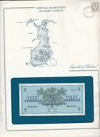BILLET DE 5 SUOMEN PANKKI  Dans Son Enveloppe De Presentation - Finlandia