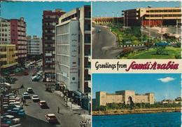 Jeddah V. 1972  3 Stadt-Ansichten  (55499) - Saudi-Arabien