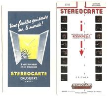 Stéréocarte Bruguière N° 2332 - Gorges Du Cians - Visionneuses Stéréoscopiques