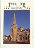 Landreger - Treguier La Cathédrale Saint Tugdual (cp Vierge N°7551 Jos) - France