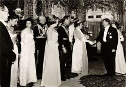CPM In Het Golestan Paleis Worden De Hoofden DUTCH ROYALTY (820900) - Familles Royales