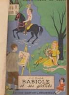 JJ DUCHE / BABIOLE ET SES GEANTS / Collection LA BIBLIOTHEQUE DE SUZETTE 1937 Livre Jeunesse Ancien B18 - Livres, BD, Revues